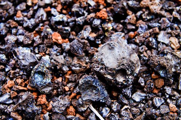 Lava Rocks close up Stock photo © pxhidalgo