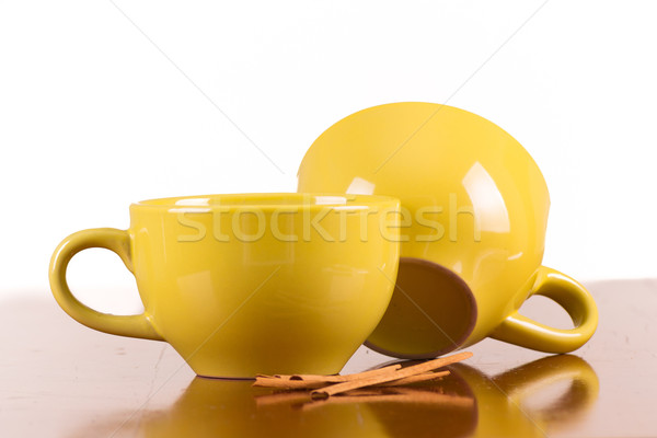 Geleneksel yemek ahşap gıda cam tatlı Stok fotoğraf © pxhidalgo