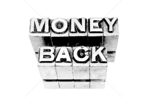 Money Back Stock photo © pxhidalgo