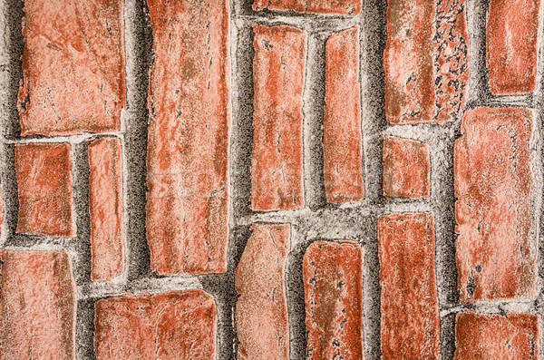 Muur textuur muur abstract achtergrond stedelijke Stockfoto © pxhidalgo