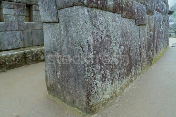有名な 石 マチュピチュ ペルー 古代 インカ ストックフォト © pxhidalgo