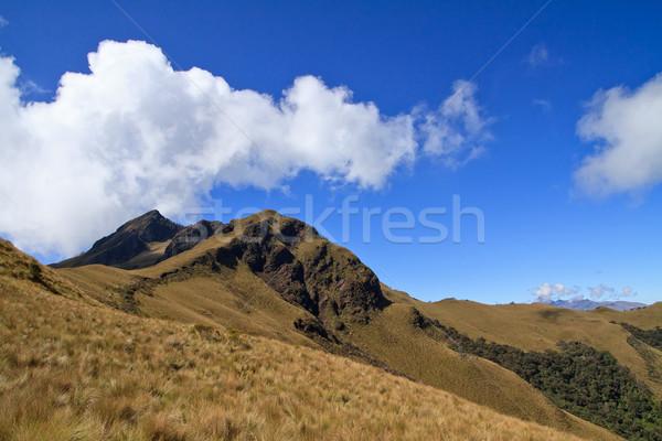 Pasochoa volcano, Ecuador Stock photo © pxhidalgo
