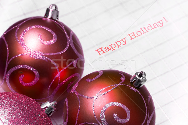 Foto stock: árbol · de · navidad · feliz · vacaciones · luz