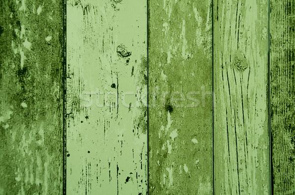 Zöld szín fa palánk textúra építkezés Stock fotó © pxhidalgo