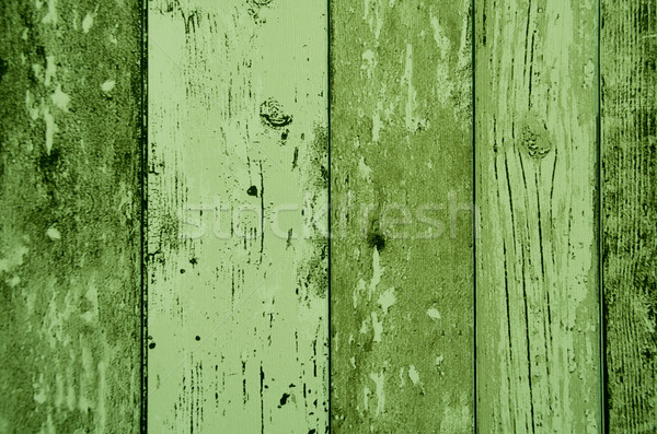 green color wood plank texture, background Stock photo © pxhidalgo