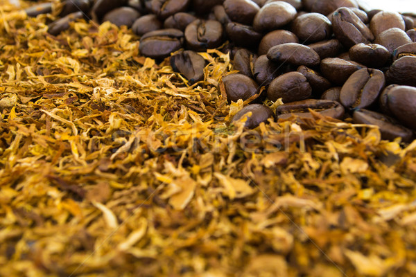Coffee and cigarettes Stock photo © pxhidalgo