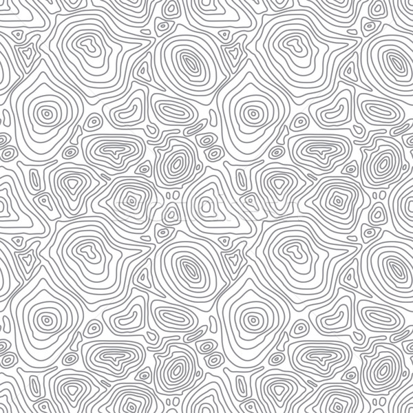 Vector seamless abstract simple pattern with concentric curved c Stock photo © pzaxe