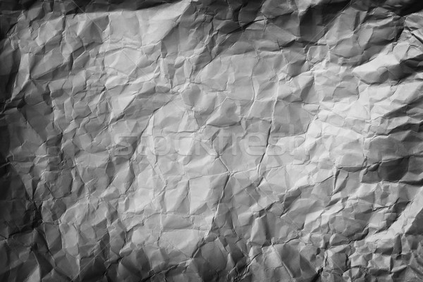 Crumpled Paper Background Stock photo © pzaxe