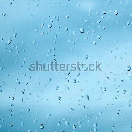 Texture from droplets of rain water Stock photo © pzaxe