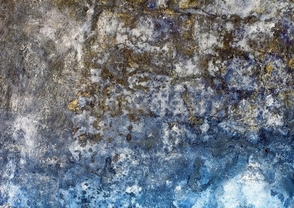 Old rough mouldy plaster on wall Stock photo © pzaxe