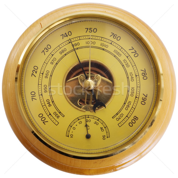 Antique barometer Stock photo © pzaxe