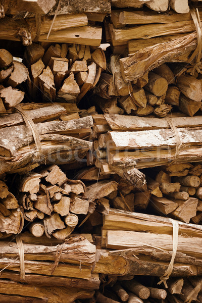 Yakacak odun hazır ayin yangın Endonezya bali Stok fotoğraf © pzaxe