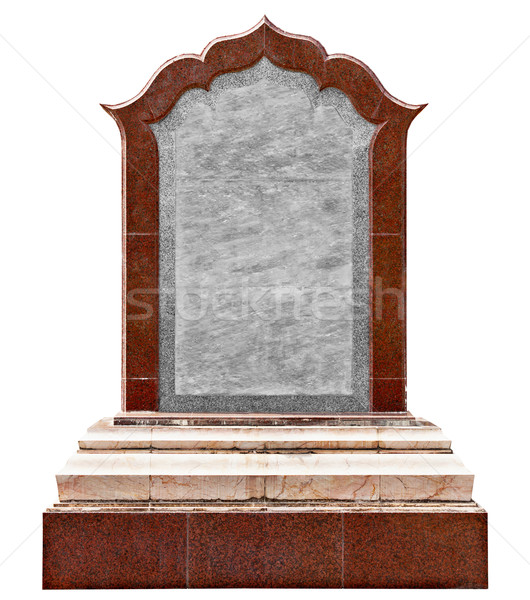 Large old granite slab - a monument Stock photo © pzaxe