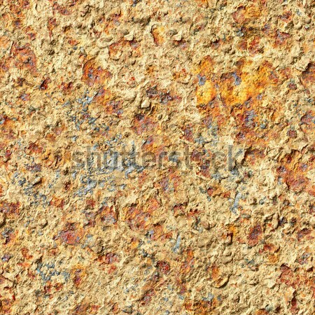 Seamless texture - surface of oxidized old iron sheet Stock photo © pzaxe