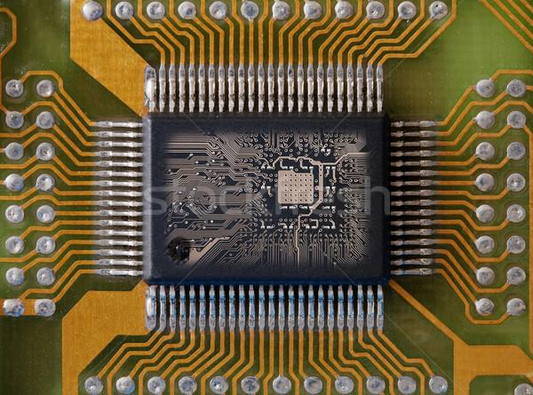 Integrated microcircuit Stock photo © pzaxe