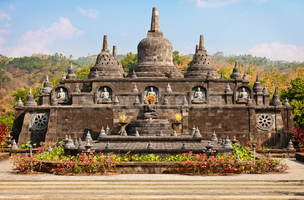 Buddhist temple - Banjar, Bali, Indonesia  Stock photo © pzaxe