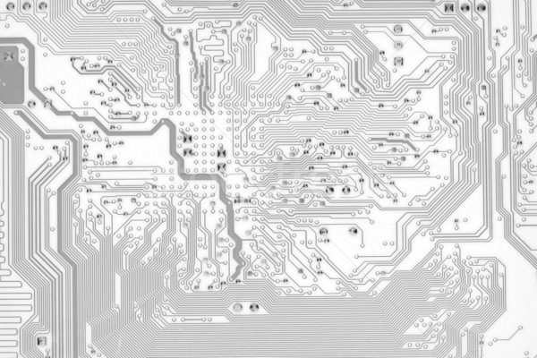 Grafische circuit board stijl abstract textuur achtergrond Stockfoto © pzaxe