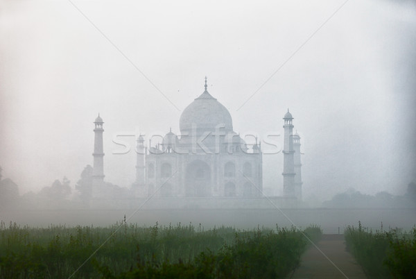 Landmark of India - Taj Mahal Stock photo © pzaxe