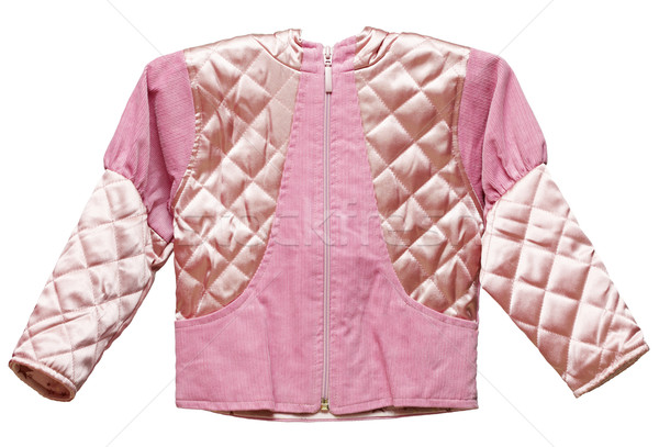 Pink feminine childs short jacket Stock photo © pzaxe