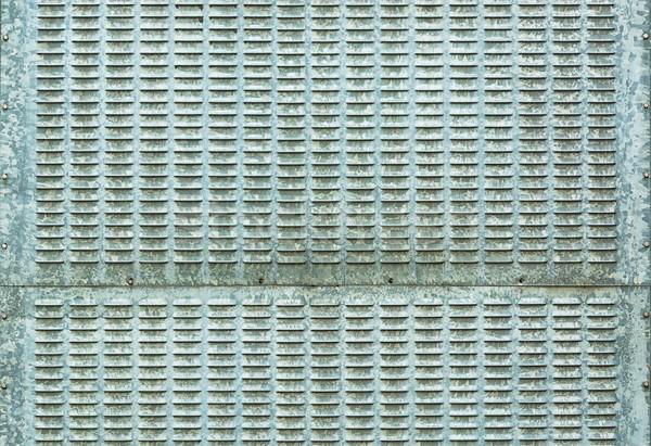 Galvanizing iron plate - steel background Stock photo © pzaxe