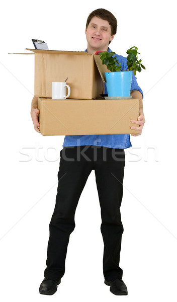 Man moves in other office Stock photo © pzaxe