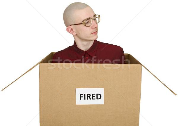Fired man Stock photo © pzaxe