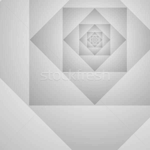 Abstrato geométrico protótipo vetor cinza ilustração Foto stock © pzaxe