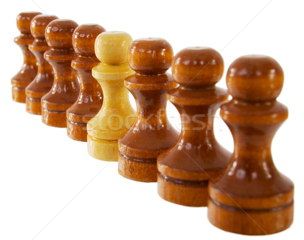 Pawns Stock photo © pzaxe