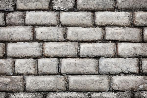 Calcário parede velho construção abstrato Foto stock © pzaxe