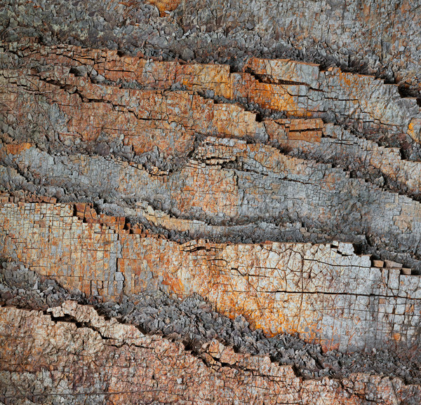 Slice of stone rocks geological background Stock photo © pzaxe