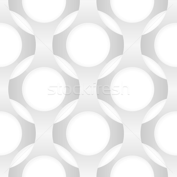 Seamless vector abstract pattern. Intertwining forms Stock photo © pzaxe