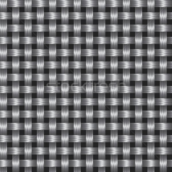 Vector abstract textuur koolstof oppervlak eps8 Stockfoto © pzaxe