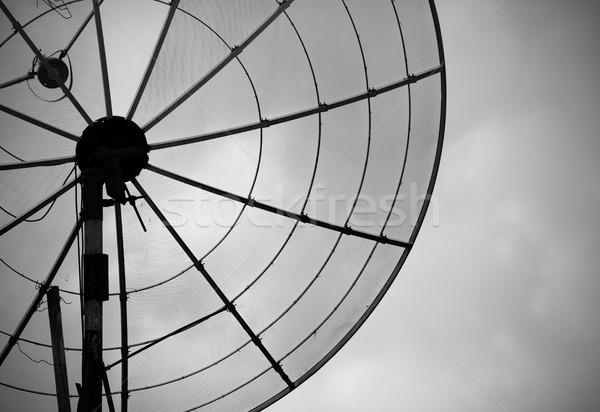Edad antena cielo Rusty Internet televisión Foto stock © pzaxe
