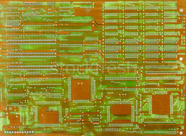 Vecchio elettronica foto verde colore texture Foto d'archivio © pzaxe
