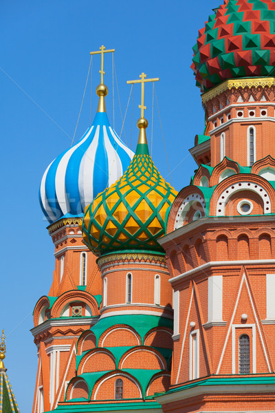 Saint Basil's Cathedral (Cathedral of Vasily the Blessed or Pokr Stock photo © pzaxe