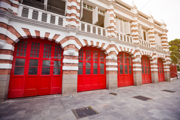 Stock photo: Beautiful Facade of Fire Station in Singapore