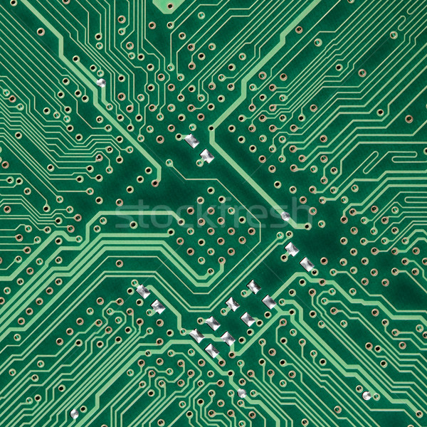 Circuit board electronic square texture Stock photo © pzaxe