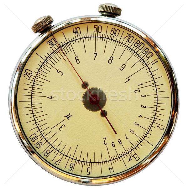 Mechanical measuriment Stock photo © pzaxe