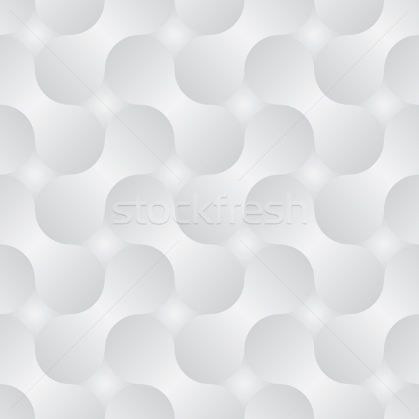 Simple geometric vector pattern - abstract shapes with gray grad Stock photo © pzaxe
