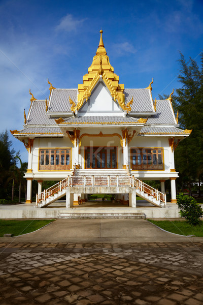 Small Buddhist temple. Surin, Thailand Stock photo © pzaxe