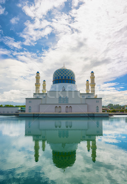 Kota Kinabalu City Mosque, Important Cultural Site in Malaysia Stock photo © pzaxe