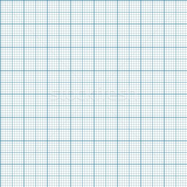 ミリメートル 紙 ベクトル シームレス エンジニアリング 青 ストックフォト © pzaxe