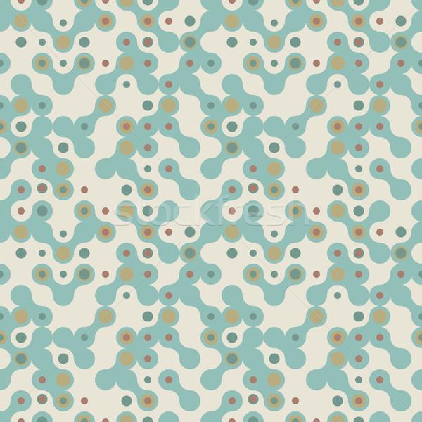 футуристический аннотация вектора текстуры бледный зеленый Сток-фото © pzaxe