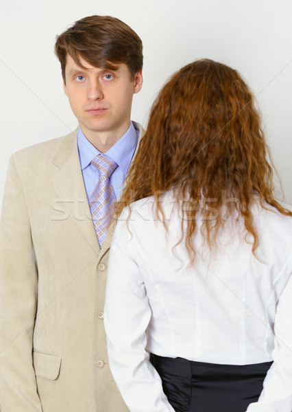 Strained relations between husband and wife Stock photo © pzaxe
