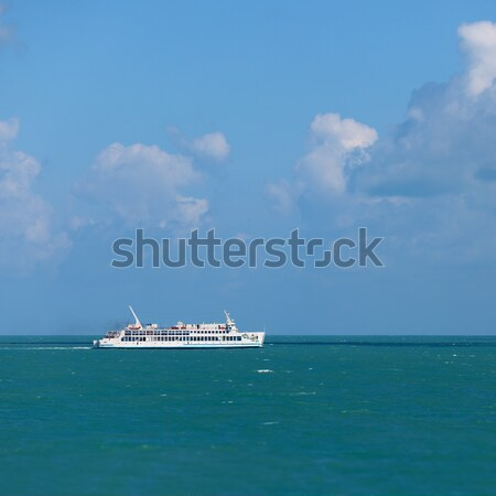 Ferry goes by sea - Thailand Stock photo © pzaxe