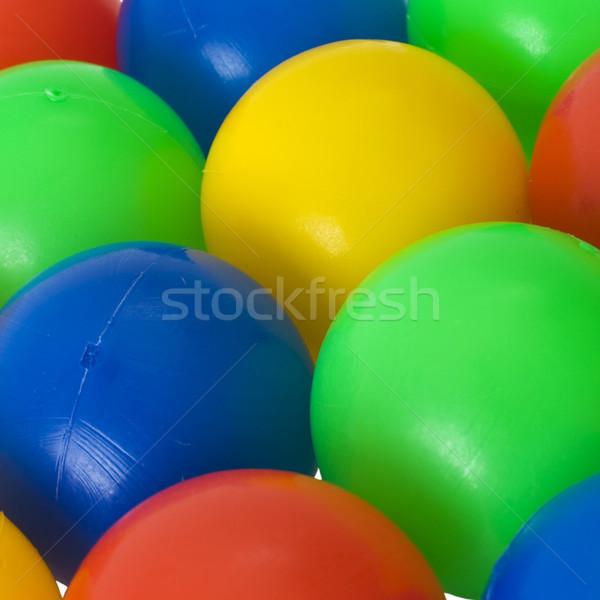 Color balls. bright colors background Stock photo © pzaxe