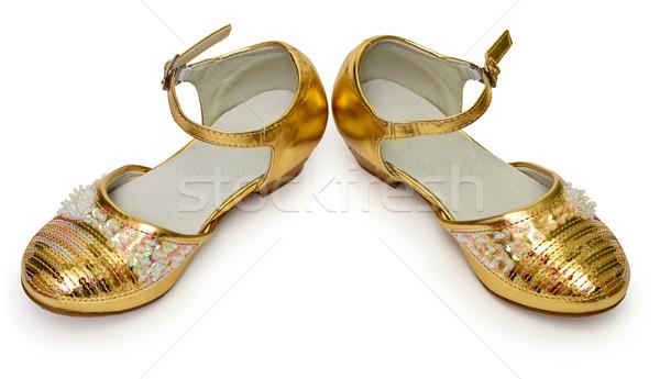 エレガントな 靴 少女 白 女の子 ストックフォト © pzaxe