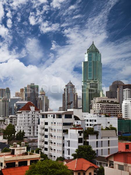 Metropolia wieżowce widoku wschodniej działalności domu Zdjęcia stock © pzaxe