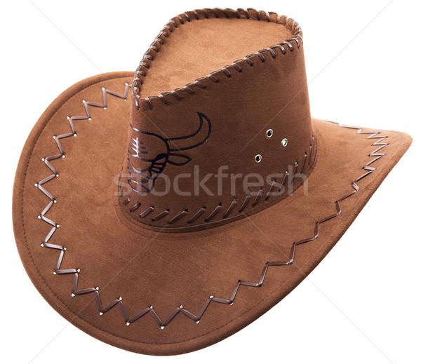 Stock photo: Cowboy's hat