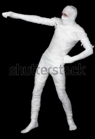 Man in bandage Stock photo © pzaxe
